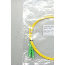 Singlemode simplex optical fiber pigtail with LC connector